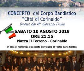 Concerto banda 10 agosto 2019